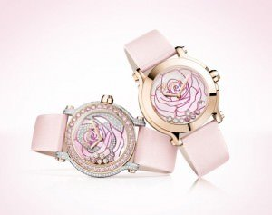 5099 Happy Sport watch The Chopard La vie en rose 0 300x237 - Die Rose in der Uhr by Chopard