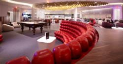 Luxus Lounge Foto Vorgin Atlantic - Luxus-Lounge am Flughafen: JFK Clubhouse von Virgin Atlantic in New York