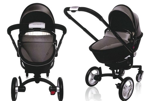 aston martin silver cross surf luxus kinderwagen - Surf by Aston Martin – ein edler Kinderwagen