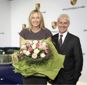Maria_Scharapova_Porsche