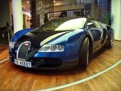 Bugatti Veyron by wikimedia GeradM - Dubais Polizei stockt erneut Fuhrpark auf – mit einem Bugatti Veyron!