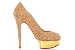 Charlotte Olympia x Veuve Clicquot Schuhe Foto Charlotte Olympia x Veuve Clicquot - Charlotte Olympia für Veuve Clicquot