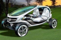 Front Course - Mercedes-Benz Vision Golf Cart: Das Golf Cart der Zukunft?