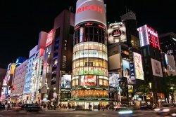 Ginza Tokio by wikimedia Yasuhiro - Tokios Prachtboulevard Ginza
