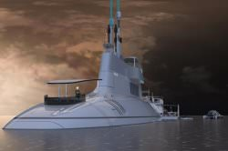 """Migaloo Foto motion code blue - """"Migaloo"""": Eine private Unterwasser-Yacht"""