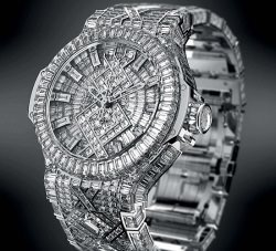 "Big Bang 5 Million Foto Hublot - Hublot ""Big Bang $ 5 Million"": Die teuerste Armbanduhr der Welt"