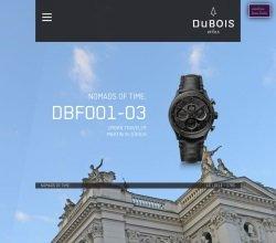 Screenshot DuBois et fils - DuBois et fils: Neue Website und eigener Online Shop
