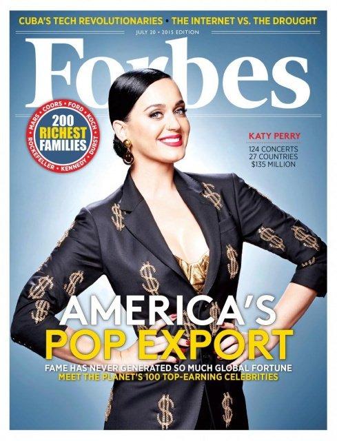 Forbes Showbusiness - Die bestbezahlten Paare im Showgeschäft 2013