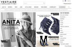 Screenshot vestiaire collective - Vestiaire Collective: Beteiligung von Condé Nast an Luxusplattform