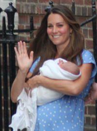 Kate Middleton und Prinz George by wikimedia Surtsicna - Prinz George: Taufe unter Auschluss der Öffentlichkeit