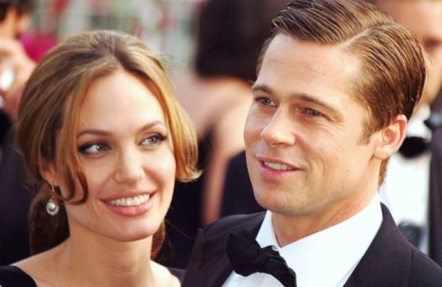 Brad Pitt Angelina Jolie by wikimedia Georges Biard - Angelina Jolie von der Queen in den Adelsstand erhoben