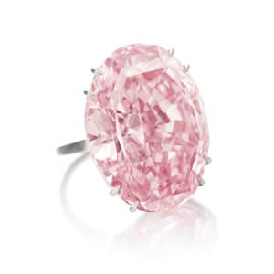 Pink Star Foto Sothebys - Pink Star: Rekordpreis für spektakulären Edelstein