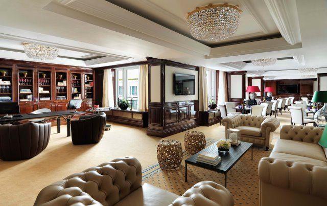 RCB Club Lounge - The Ritz-Carlton Berlin: Die neue exklusive Club-Lounge
