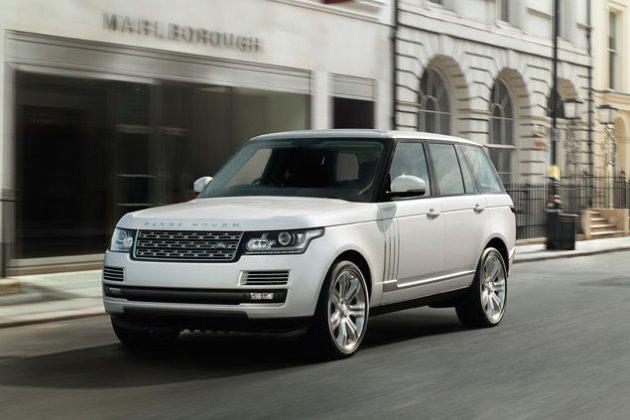 Range Rover LWB Foto Range Rover - Range Rover LWB: Die neue Luxus-Version des SUV