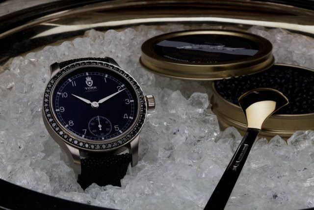 Royal Black Caviar York Foto York Watches - Royal Black Caviar von York: Luxusuhr mit Kaviargedeck