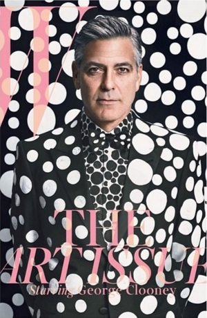 "W george clooney cover Foto Instagram - Art Issue der ""W"": George Clooney punktet auf Cover"