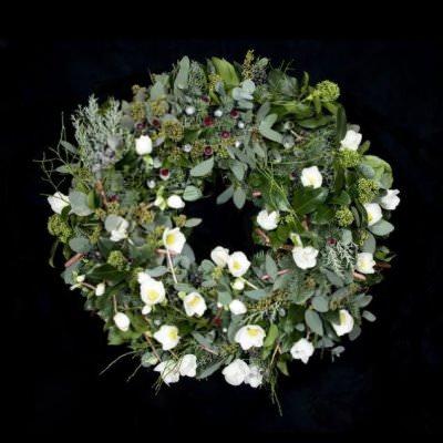 Weihnachtskranz Foto Veryfirstto com - Blumen-Designer entwirft Weihnachtskranz für 3,35 Millionen Euro