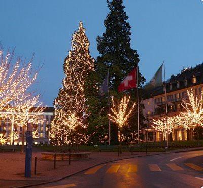 Bad Ragaz Quelle Wikimedia - Russisches Weihnachtsfest wird luxuriös in der Schweiz gefeiert