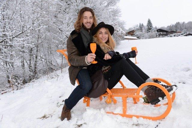 """Clicquot in the Snow Foto Veuve Clicquot - Event: """"Clicquot in the Snow"""" zum Hahnenkammrennen in Kitzbühel"""