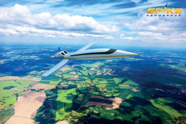 Spike Aerospace S 512 Foto Spike Aerospace - Spike Aerospace S-512: Privatjet mit Überschallgeschwindigkeit