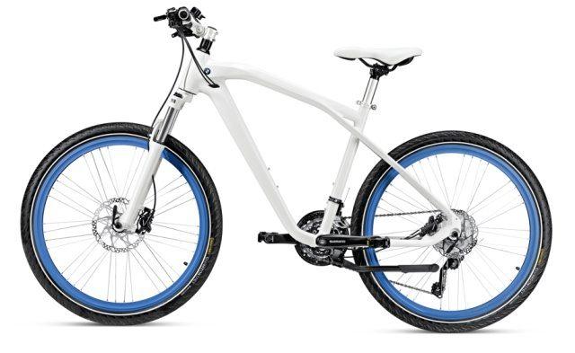 BMW Cruise Bike blau - Neue Fahrrad-Kollektion von BMW