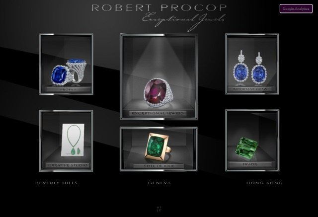Screenshot robert procop - Robert Procop: Schmuckdesign und Diamantenhandel als Leidenschaft