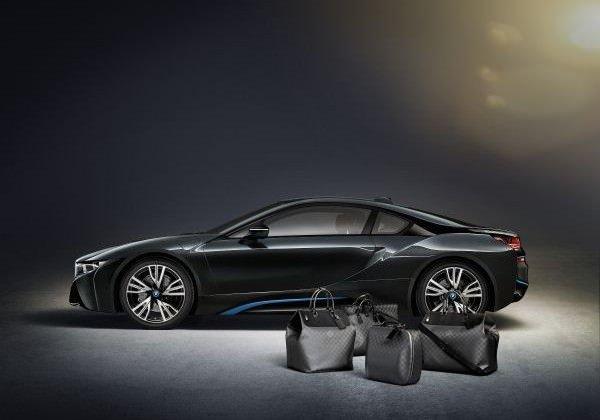 Maßgeschneiderte Gepäckserie von Louis Vuitton für den BMW i8 aus Carbon-1