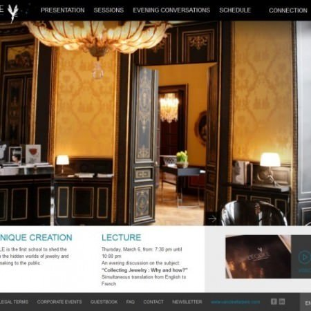 Screenshot 'L'ECOLE Van Cleef & Arpels'