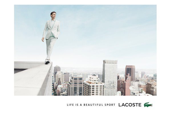 Lacoste Life is a Beautiful Sport