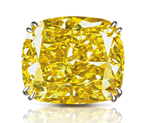 Graff Vivid Yellow Foto graffdiamonds com - Auktion: Rekordpreis für gelben Diamanten
