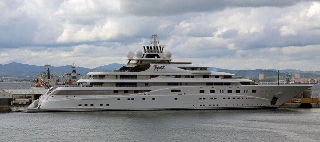"""Topaz cc by wikimedia Moshi Anahory - Leonardo DiCaprio feiert WM-Party auf Superyacht """"Topaz"""""""