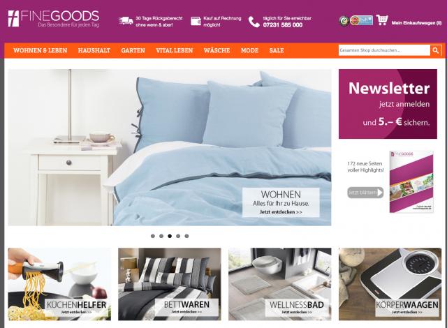 Finegoods Shop - Erfahrungen mit dem Fine Goods Shop