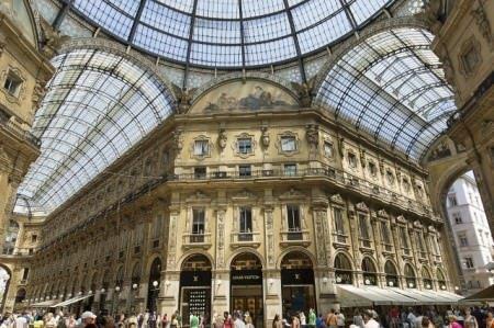 Milan-Galerie Vittorio Emanuele cc by wikimedia, Jean-Christophe BENOIST