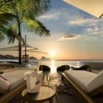 "LIM 7Pines Pool Sonne 150x150 - Escape to Paradise – Neues Luxusresort ""7 Pines"" auf Ibiza"