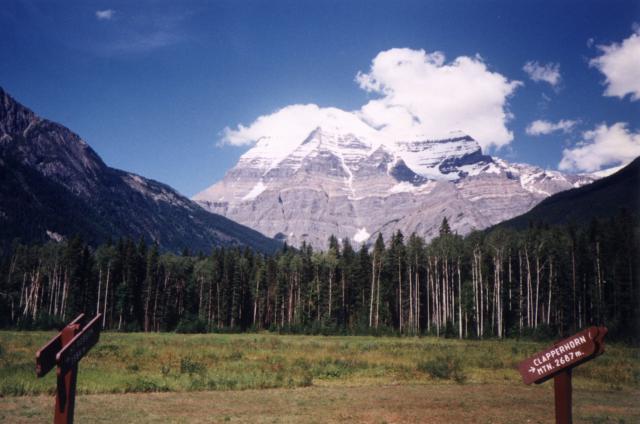 mount robson canada 640x424 - Die schönsten Reiseziele Kanadas