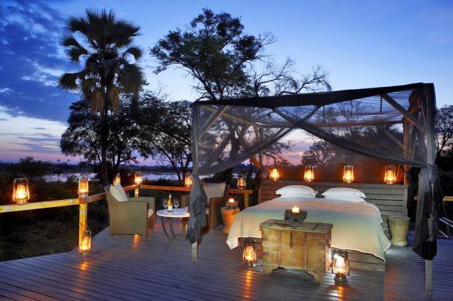 Abu Camp sleep out deck cDana Allen 1 640x426 - Honeymoon & Wedding - die schönsten Luxus-Destinationen Teil 2