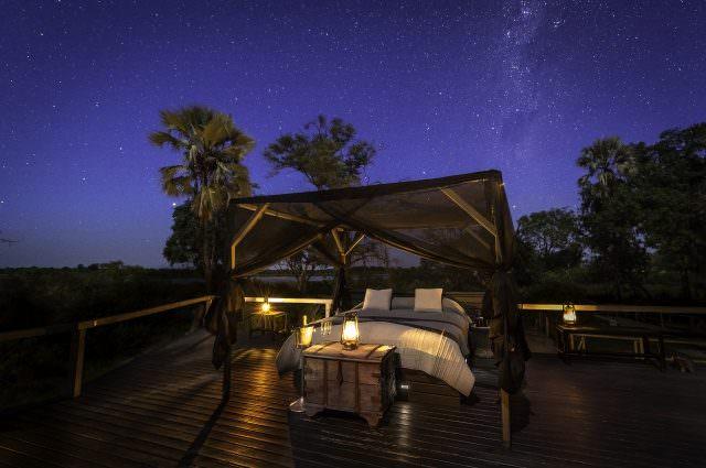 Abu Camp sleep out deck cDana Allen 3 640x425 - Honeymoon & Wedding - die schönsten Luxus-Destinationen Teil 2