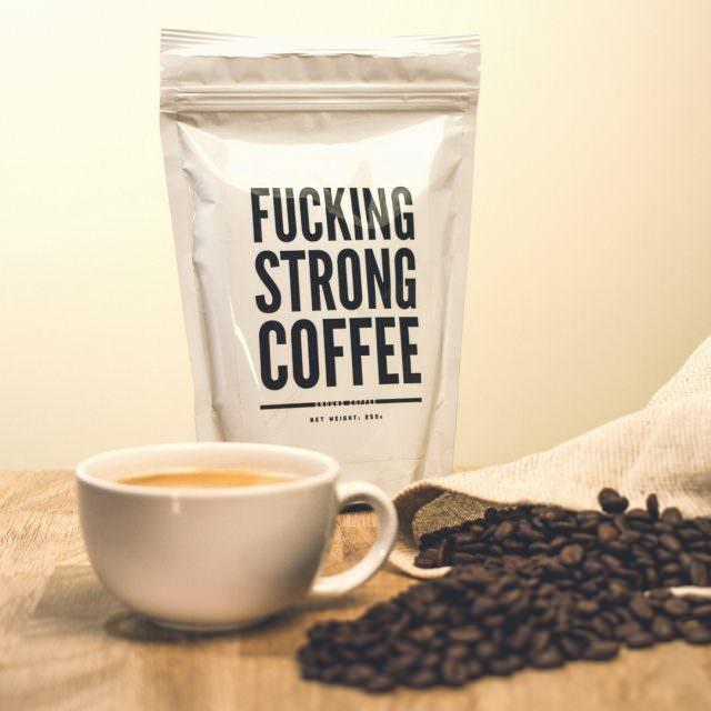 fucking strong coffee verdammt starker kaffee 640x640 - Geschenke zum Vatertag. Was schenkt man Jemandem, der schon alles hat?