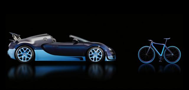 Bugatti Lightweight 7 - Freizeit-Luxus von Bugatti - das leichteste Urban Bike weltweit