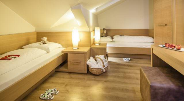 Winklerhotels Lanerhof Pustertal kinderzimmer 640x353 - Der Lanerhof - Wellness, Gourmet & Sport in Südtirol