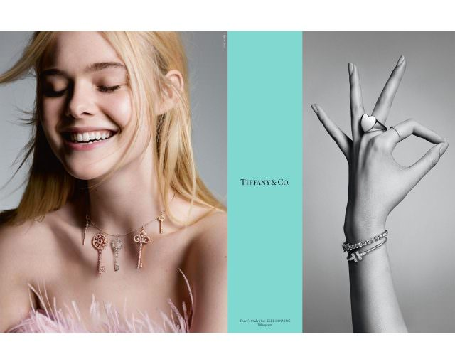 Actress Elle Fanning makes a statement in Tiffany Co.'s Fall advertising campaign 640x512 - Hollywood-Stars für Tiffany & Co.