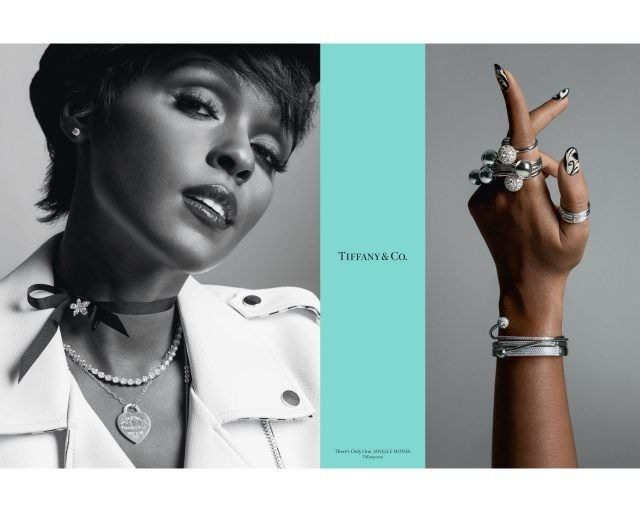 Singer songwriter record label executive and Oscar® nominated actress Janelle Monáe in Tiffany Co.'s Fall advertising campaign 640x512 - Hollywood-Stars für Tiffany & Co.