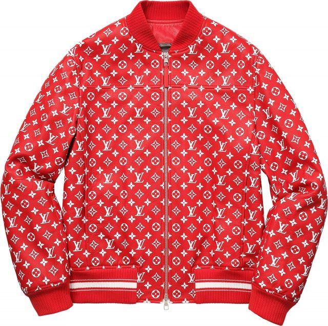 Supreme Louis Vuitton Jacket Bomber 640x635 - Louis Vuitton x Supreme