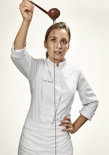 Marie Simon   Chef de partie patisserie 6447 - Mondial des Arts Sucrés - Marie Simon vom Hôtel du Cap-Eden-Roc gewinnt