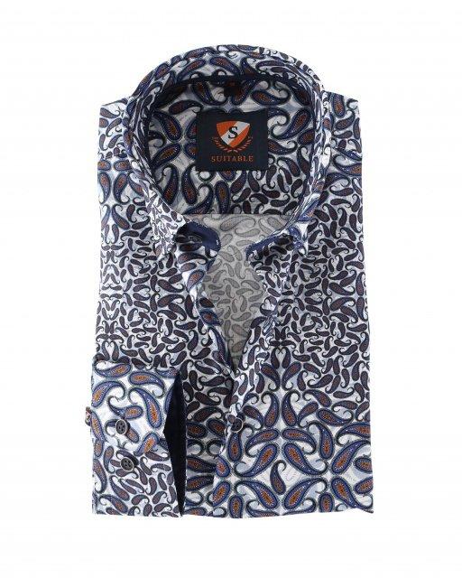 suitable hemd paisley - Männermode 2018 – Das sind die neuen Trends