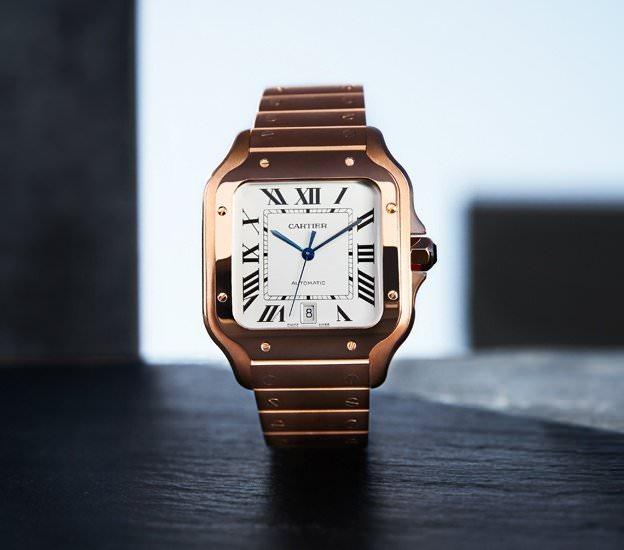 Cartier Santos Automatic Gold - Cartier Santos - eine Uhrenlegende