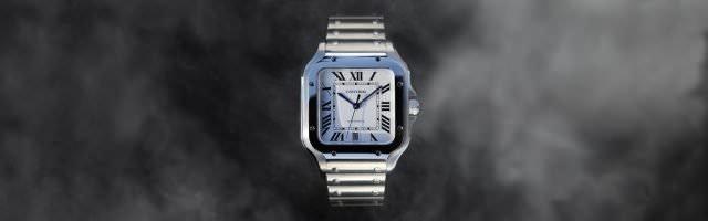 cartier santos maenner stahl stahl 640x200 - Cartier Santos - eine Uhrenlegende