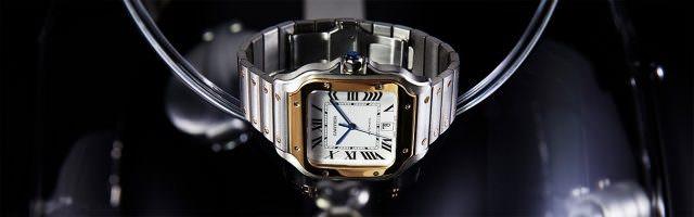 cartier santos stahl gold 640x200 - Cartier Santos - eine Uhrenlegende