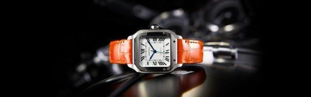cartier santos stahl leder 640x200 - Cartier Santos - eine Uhrenlegende