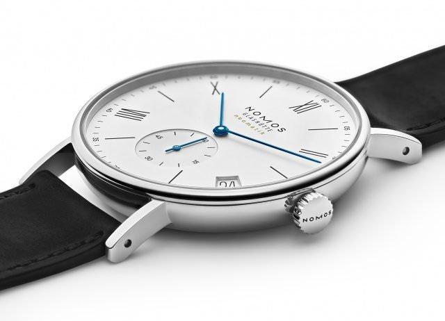 13 NOMOS Ludwig neomatik 41 Datum liegend diagonal 640x462 - Luxus-Uhren: Update für neomatik-Designs